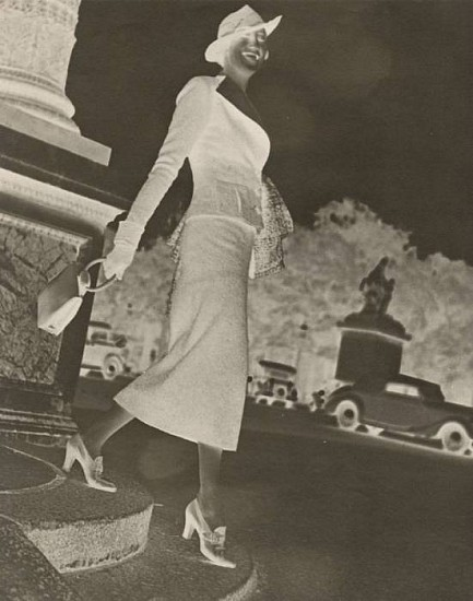 Jean Moral ,   Mode  ,  1936     Vintage gelatin silver print ,  8 7/8 x 7 in. (22.5 x 17.9 cm)     1202     Price Upon Request