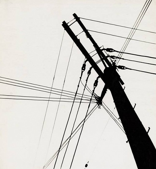 Ferenc Berko ,   Telephone Wires, Chicago  ,  1947-48     Vintage gelatin silver print ,  11 7/8 x 10 15/16 in. (30.2 x 27.8 cm)     3649     Sold