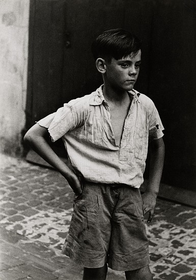Roger Mayne ,   Keith, Addison Place, London  ,  1957     Vintage gelatin silver print ,  9 13/16 x 6 15/16 in. (24.9 x 17.6 cm)     6460     Sold
