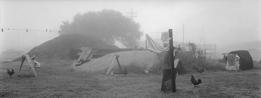 Lois Conner ,   Port Allen, Louisiana  ,  1988     Platinum print ,  6 1/2 x 16 1/2 in. (16.5 x 41.9 cm)     Edition of 10     5890