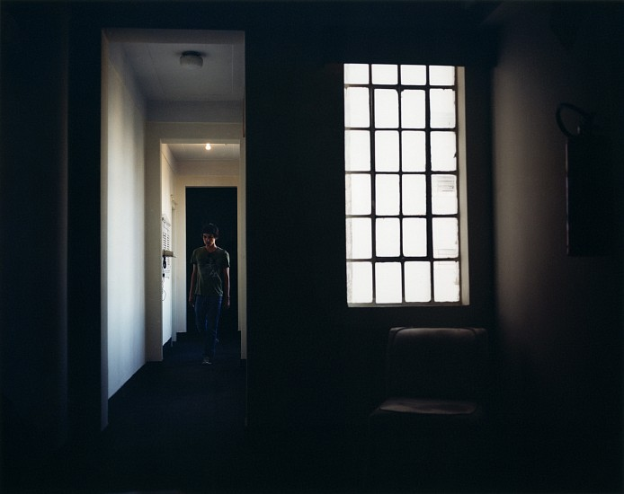 Allen Frame ,   Tiago, Sao Paulo hotel  ,  2008     Chromogenic color print ,  21 7/8 x 27 1/2 in. (55.6 x 69.8 cm)     Edition of 5     5704