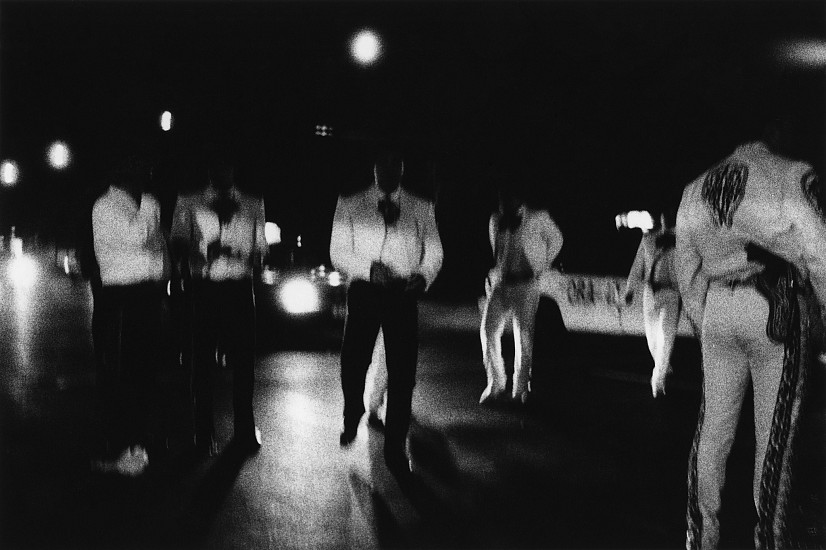 Allen Frame ,   Mariachis, Mexico City  ,  2000     Gelatin silver print ,  26 x 39 in. (66 x 99.1 cm)     Edition of 3     5667